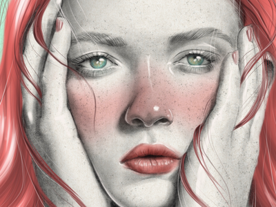 Cat woman portada book cover editorial model dibujo procreate portrait illustration ipad pro digital cat woman art