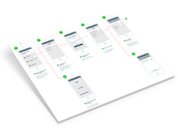 User Flows + Wireframes