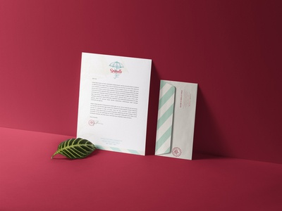 Umbrella - Stationery Design