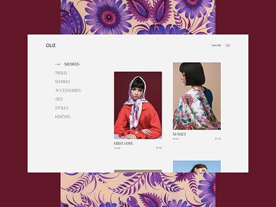 Oliz Store ukraine fashion modern shop modern fashion culture ux design ux design web design uxdesign uidesign ui  ux uiux ui design ui