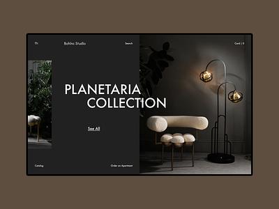 Bohinc Studio minimalism minimal fashion modern collection apartment web design ux design uxdesign ux uiux uidesign design ui  ux ui design ui