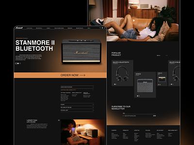 Marshall web design ux design uxdesign ux uiux uidesign design ui  ux ui design ui