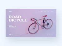 Bicycle // Web concept