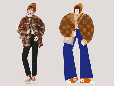 Fashion Illustration fashion procreate illustration