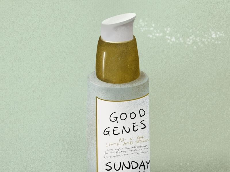 Good Genes procreate illustration