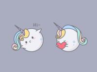 Uniball Emoji Pack - Sweet