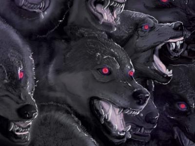 Creative Instinct Upgraded bestial wolf digital illustration ilustración