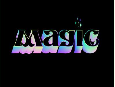 MAGIC gradient color bestial magia