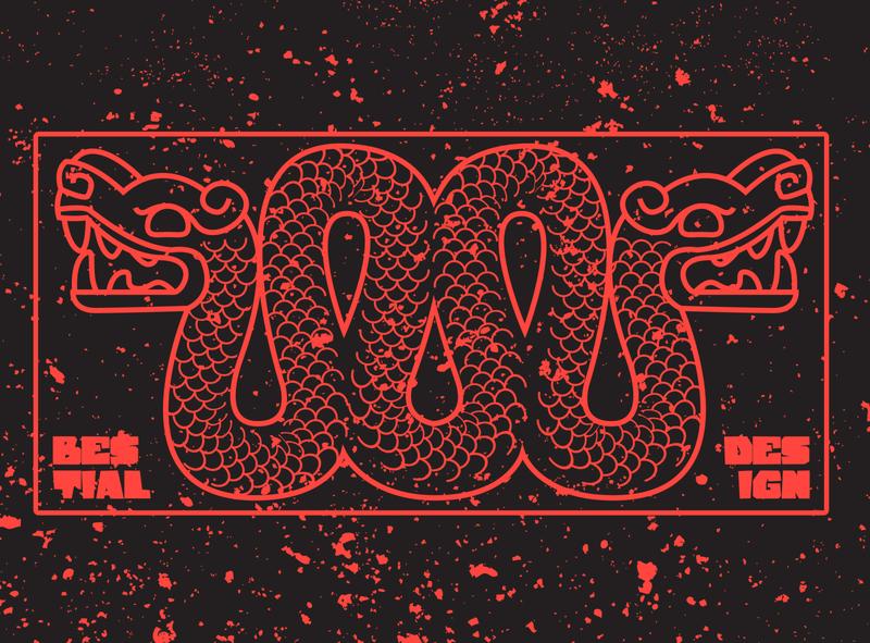 BESTIAL DESIGN aztec bestial branding logo diseño prehispanic designer designs