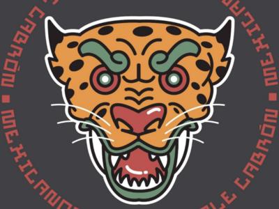 JAGUAR MCHC bestial animal illustration animal vector leopard jaguar animal flat mexican