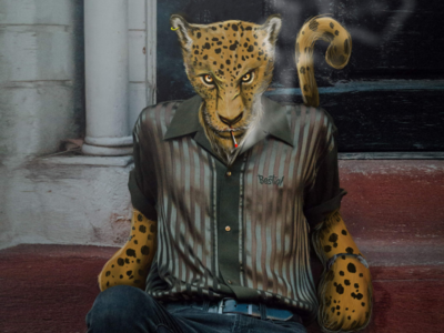Stylish Beast méxico bestial digital art illustration animal jaguar
