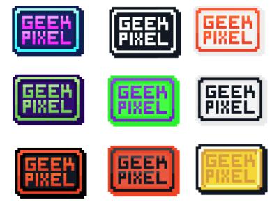 Geek Pixel Colors