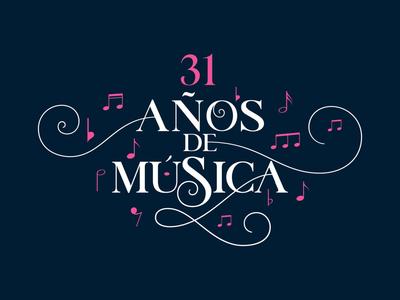 31st Morelia Music Festival mexico morelia elegant music bestial eventbranding