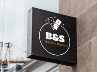 """Logo Design """"Caffe bar Domino"""""""