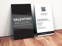 Business card - Valentino Ratkajec