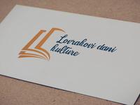 """Logo Design """"Lovrakovi dani kulture"""""""