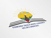 """Logo Design """"OŠ Mate Lovraka"""""""
