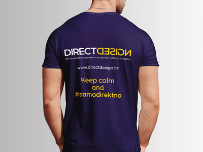 Tshirt Design - Direct Design shirt design tshirt graphics art purple yellow illustrator illustration typography brand modern tshirt design tshirt