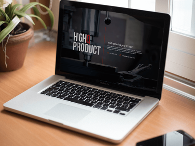 Web Development - HighQ Product user interface landing page service product page visual design website minimalistic video clean coming soon landing