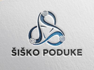Logo Design - Šiško Poduke design logo graphic design creative illustrator vector modern school logo educational typography logo design brand branding