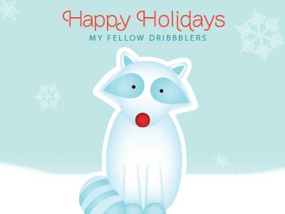 Happy Holidays! happy holidays illustration