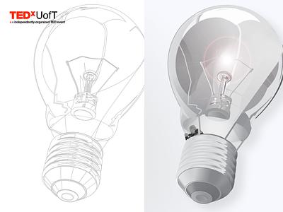 Lightbulb lightbulb balloon ted tedx tedxuoft