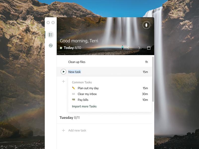Centered App centered app mindfulness productivity desktop app product design ui centered