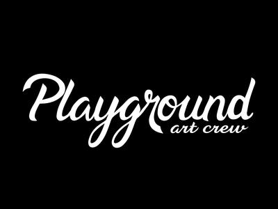 Playground Art Crew Script Logo