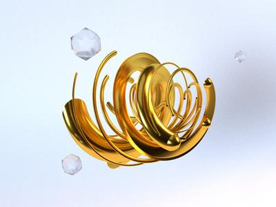 Gold Swirlie