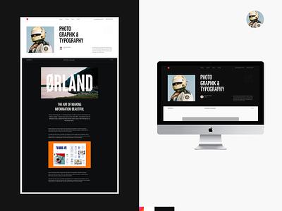 Lancelot® uiux ux web design dark clean minimal ui website webdesign typography