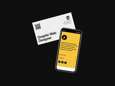 Ludens Identity branding portfolio mockup design concept ui website clean typography minimal
