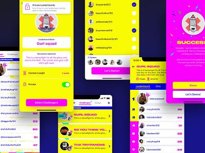 freelancin' bright colors social network ios