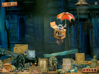 Boxtrolls Game Concept mobile game movie app ios game