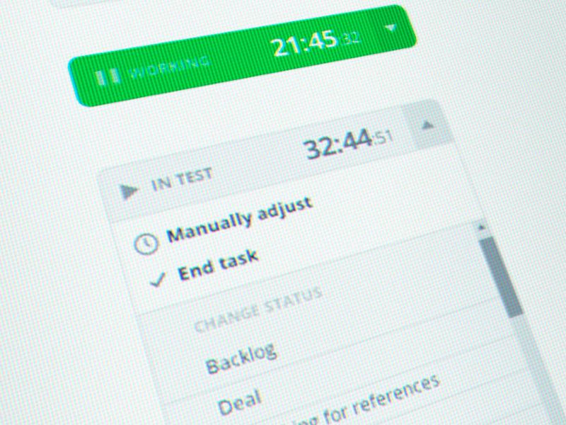 Status & Timer timer task palyer play time status