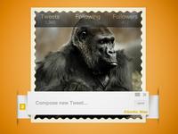 Gorilla Tweet!