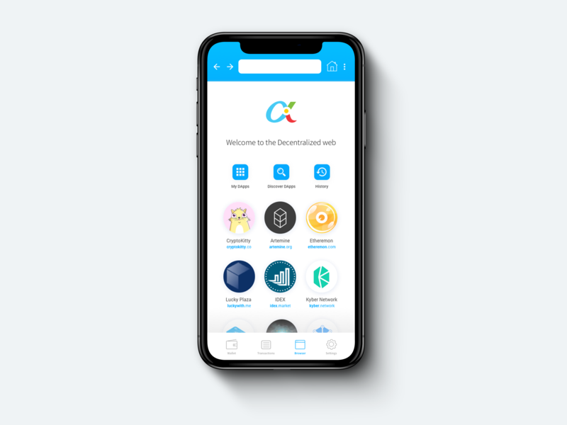 DApp (Decentralized Application) Browser ux user interface ui  ux uiux ui design uidesign ui tech marketing fintech design crypto wallet crypto exchange cryptocurrency exchange cryptocurrency app cryptocurrency cryptocurrencies blockchaintechnology blockchain cryptocurrency blockchain