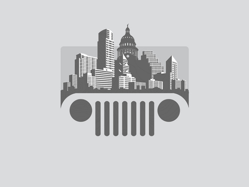 Austin Jeep People By Chrix Dribbble Dribbble