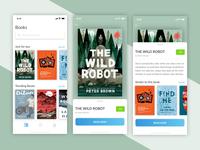 Book Reader Mobile Application