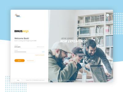 Login Page - UI Exploration login web app design ui design ux design