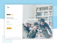 Login Page - UI Exploration