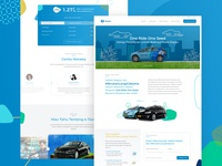 One Ride One Seed - Campaign Landing Page