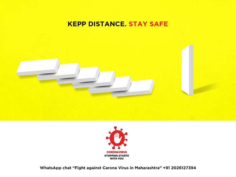 KEEP DISTANCE. STAY SAFE