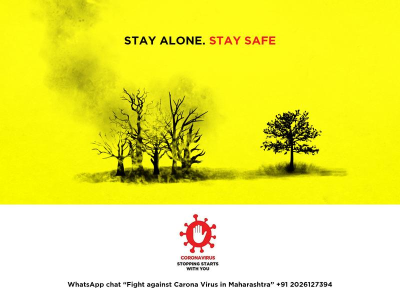 STAY ALONE  STAY SAFE