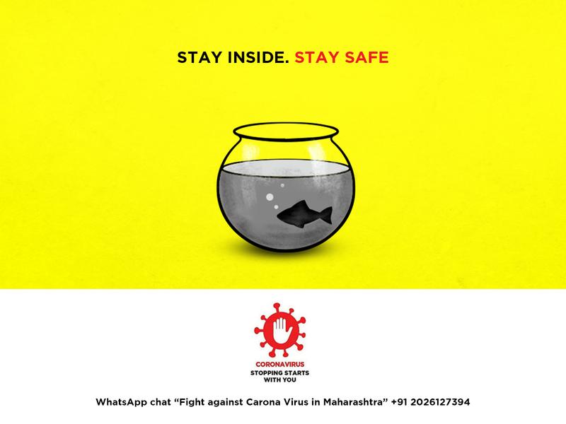 STAY INSIDE  STAY SAFE