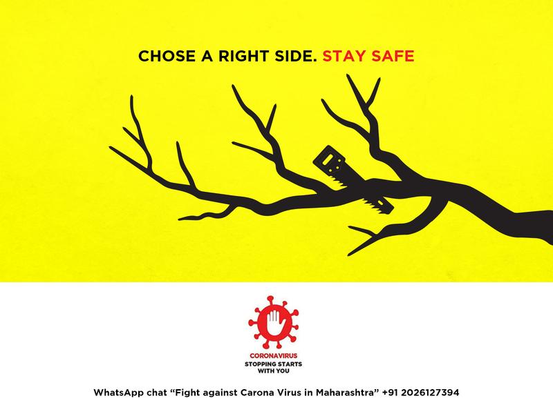 CHOSE A RIGHT SIDE  STAY SAFE