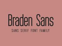 Braden Font Family