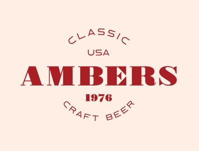 "Amber Logo - ""Moorland Keller"" branding design typeface display font typography logo handcrafted vintage retro"