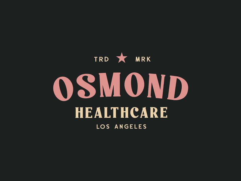 Osmond Logo - Paschal Dumont brand label display typeface font typography logo vintage handcrafted retro
