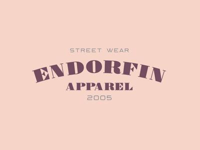 Endorfin Logo - Moorland Keller badge branding type typeface font typography vintage logo handcrafted retro