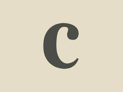 36 Days of Type - C type 36daysoftype handcrafted vintage clean modern font retro typeface font typography
